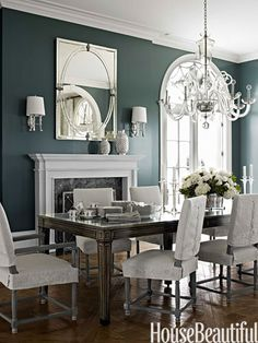 Paint is Benjamin Moore Aura in Charlotte Slate