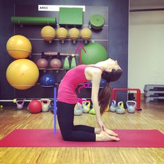 #yoga and directions how to do #ustrasana or camel pose
