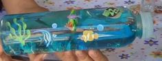 Sea in a bottle Fun Crafts For Kids, Summer Crafts, Projects For Kids, Art For Kids, Activities For Kids, Diy And Crafts, Blogs Ideas, Splash Party, Eco Kids