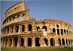 The Coliseum in Rome, and many other beautiful places in Italy.