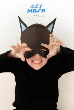 Bunny and Cat Mask · Lesson Plans | CraftGossip.com