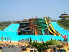 I want my own water park. White water bay, Oklahoma