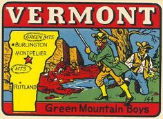 Green Mountain, State Map, Vermont, Social Studies, Genealogy, Homeschooling, Rooms, History, Kids