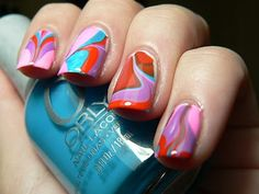 Let them have Polish!: Funkeh Watermarble 1960's Inspired
