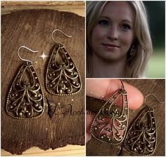The Vampire Diaries INSPIRED Jewelry  Caroline by LAcchiappasogni