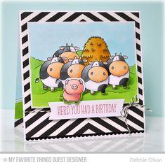 The Whole Herd, Blueprints 20 Die-namics, The Whole Herd Die-namics - Debbie Olson  #mftstamps