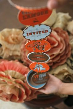 20 Fun & Unique Wedding Invitations - Although this would be a better Save the Date than invitation.