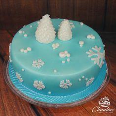 Winterzauber Torte | Winter Wonderland Cake