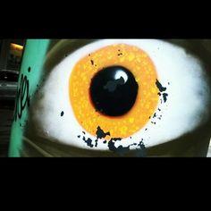 Kaikennäkevä #silmä #katutaidetta #Helsinki #Kamppi #tennispalatsi #streetart #kraffiti 3/2/17