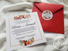 Astazi va prezentam un nou model ce-l adaugam in magazinul online Adebo Design – Invitatie nunta Tania, un model de invitatie patrata 15×15 cm, tiparita fata-verso, cu textul centrat intr-un chenar de culoare aurie si elemente florale bordo, visinii, orange si verdeata pe alocuri. Acest model il recomandam persoanelor ce sunt in cautare de Invitatii nunta florale, invitatii nunta bordo si chiar invitatii nunta elegante. Plicul de culoare rosu inchis este personalizat pe interior cu elemente Container, Floral, Wedding, Valentines Day Weddings, Flowers, Weddings, Flower, Marriage, Chartreuse Wedding