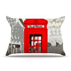 East Urban Home Oriana Cordero 'London' Pillow Case
