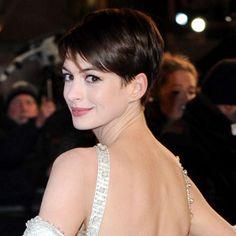 Anne Hathaway - Short Hairstyles