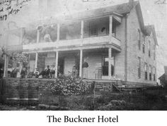 Chimney Marshall Arkansas The Buckner Hotel