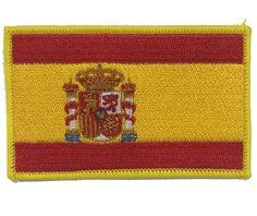 Escudo bordado Bandera España reglamentario brazo