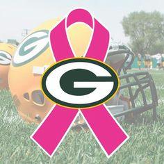 Green Bay Packers Pink Ribbon