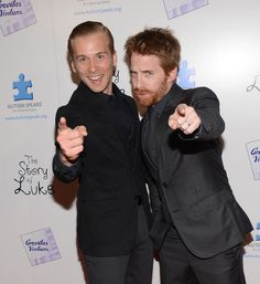 """Lou Taylor Pucci Actors Lou Taylor Pucci and Seth Green attend """"The Story Of Luke"""" premiere at Laemmle Music Hall on April 2, 2013 in Beverl..."""