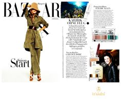 Ligne St Barth in the German Press: Harper's Bazaar - featuring our Deep Sea Cream www.LigneStBarth.com
