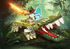 Lego Legends of Chima on Behance