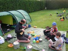 Camping w kids a la Europe