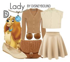 Lady by leslieakay on Polyvore featuring polyvore, fashion, style, Alexander Wang, LE3NO, Diba, Deux Lux, Color My Life, clothing, MothersDay, disney and disneybound