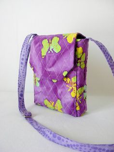 Hipster Mini Messenger Hipster Quilted Batik by Sewtype on Etsy