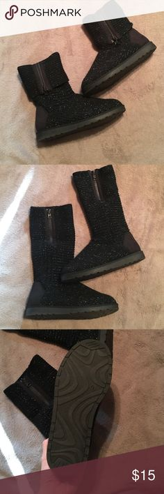 Sweater boots Never worn sweater boots. Can be folded down to be ankle boots Shoes Ankle Boots & Booties