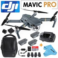 DJI Mavic Pro Collapsible Quadcopter+SanDisk 64GB Card+2 Intelligent Flight Batteries+Cleaning Cloth+Shoulder Bag,Car Charger - http://www.midronepro.com/producto/dji-mavic-pro-collapsible-quadcoptersandisk-64gb-card2-intelligent-flight-batteriescleaning-clothshoulder-bagcar-charger/