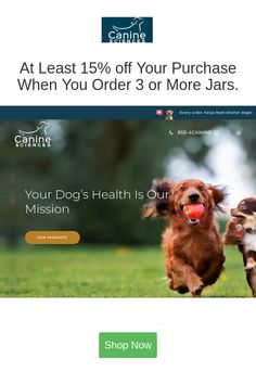 Best deals and coupons for Canine Sciences
