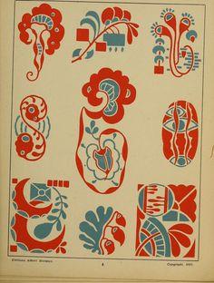 Decorative ornaments in the style of the day (Viñetas decorativas según el gusto del día), 30 plates hand drawn by Enrique Gillet, Preface of G. Umbdenstock, Paris : A. Jugendstil Design, Drawing School, Balance Design, Embroidery Motifs, Art Nouveau Design, Freedom Design, Art Nouveau Jewelry, Repeating Patterns, Designs To Draw