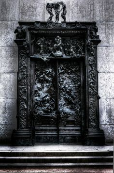 The Gates of Hell, Musée Rodin, Paris