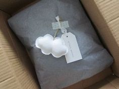 Cloud, tag, washi packaging (proper link)