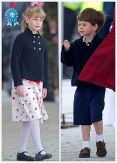 L to R: Lady Louise Windsor, Viscount Severn (children of the Earl and Countess of Wessex)~ Edwards children Queen Elizabeths Children, Louise Mountbatten, Viscount Severn, Lady Louise Windsor, English Royal Family, Family Photo Album, Royal Prince, British Monarchy, Prince Edward
