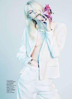 """""""The Snow Queen""""   Model: Aline Weber, Photographer: Txema Yeste, Harper's Bazaar Spain, December 2011"""