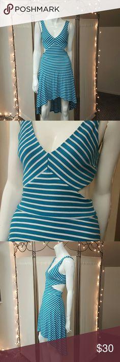 Bebe Stripe Dress bebe Dresses Midi