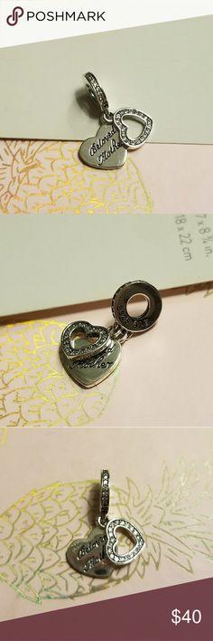New Authentic Pandora heart Selling my authentic Pandora heart no longer fits my bracelet theme so don't need it Pandora Jewelry Bracelets