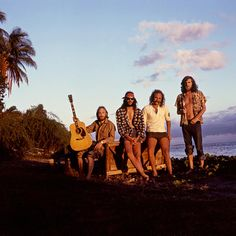 foreverneilyoung:  Crosby, Stills, Nash & Young photographed in Hawaii by Graham Nash
