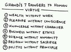Gandhi was kinda smart