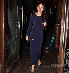 Kareena Kapoor at Babita's birthday bash. #Bollywood #Fashion #Style #Beauty