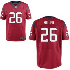 NFL Houston Texans #26 Lamar Miller Red Alternate Stitched NFL Elite Jersey