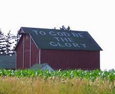 best sign I've seen on a barn                                                                                                                                                      More