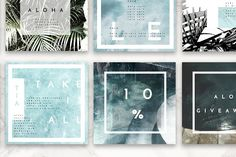 8 Pack Instagram Travel Layouts - Web Elements