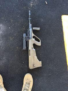 The Australians let us shoot their guns