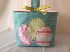 Girls Fabric Easter Basket - wish list