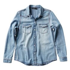 Just Jeans   Vintage Wash Denim Shirt   $59.99