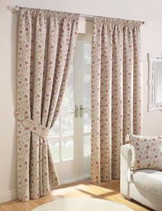 Mia Ready Made Curtains in Autumn - Terrys Fabrics UK Pleated Curtains, Lined Curtains, Pencil Pleat, All The Colors, Colours, Autumn, Luxury, Fabrics, Home Decor