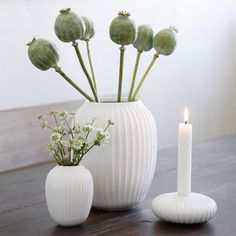 Use the Hammershøi vase with the classic furrows to create a stylish look that will take your décor to a new level. Find the white Hammershøi mini vase here Decor, Flower Vases, Large Ceramic Vase, Decor Design, Scandinavian Home, Elegant Vases, Vase, Candle Holders, Beautiful Vase