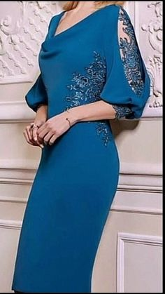 Mother of the bride Stylish Dresses, Elegant Dresses, Beautiful Dresses, Casual Dresses, Short Dresses, Formal Dresses, Lace Dress Styles, Sleeves Designs For Dresses, Classy Dress