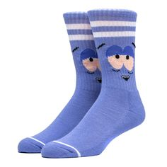 HUF x South Park - Towelie x HUF Bloodshot Socks - Purple