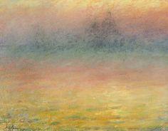 Emile Claus (Belgian, 1849-1924),Vue de Venise[View of Venice]. Pastel on paper, 21 x 26.5 cm.