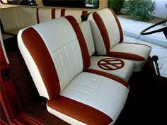1968 early bay customized interior                              …